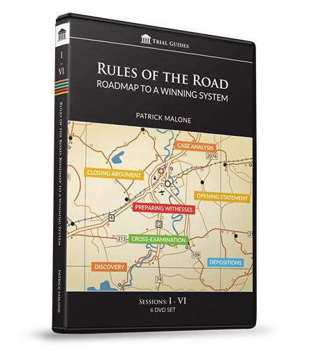 Rules of the Road: Roadmap Sessions I-VI