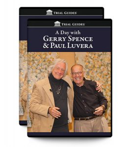 A Day with Gerry Spence and Paul Luvera Package